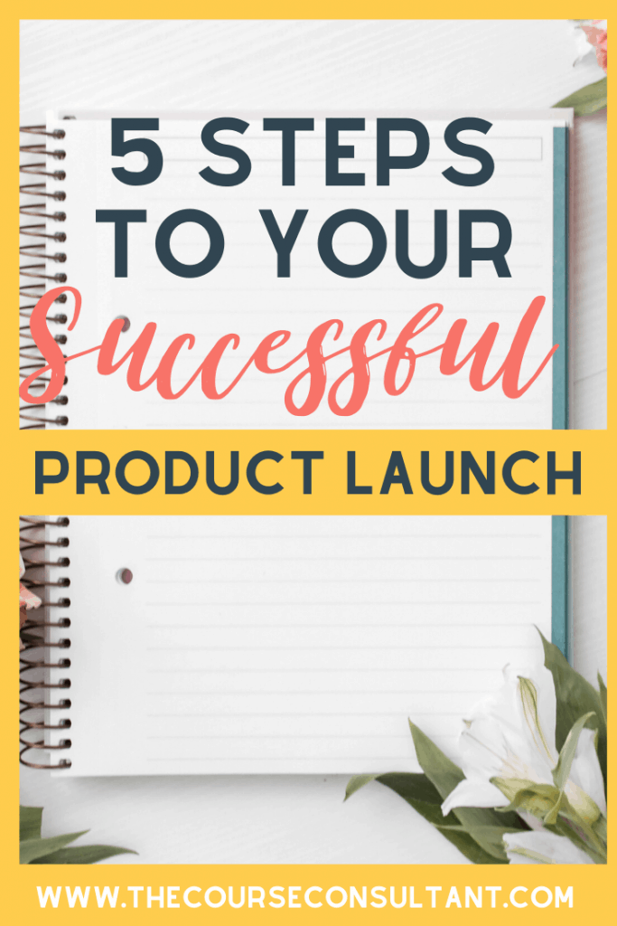 5 steps to Your Successful Product Launch