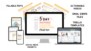 5 Day Inspired Course Creation Challenge