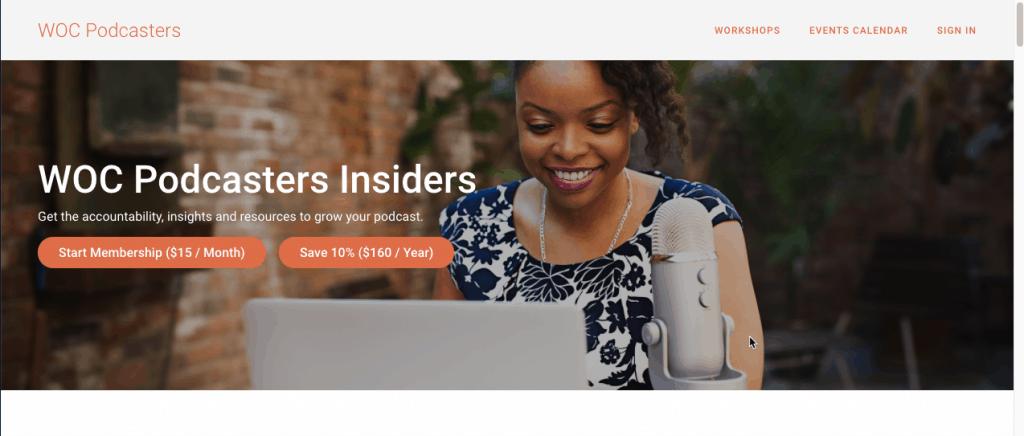 Thinkific Membership Site Example