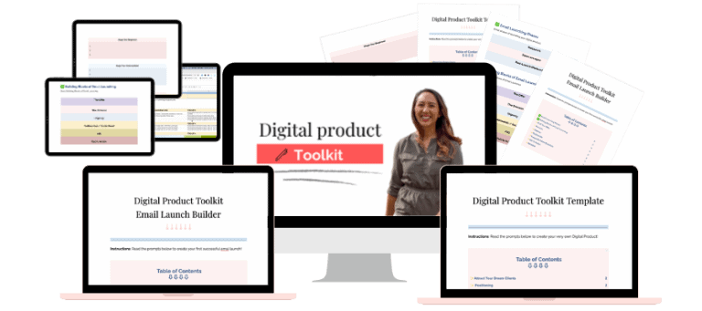Digital Product Toolkit