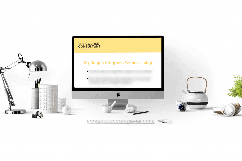 Sales webinar checklist