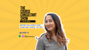 signature course coaching program