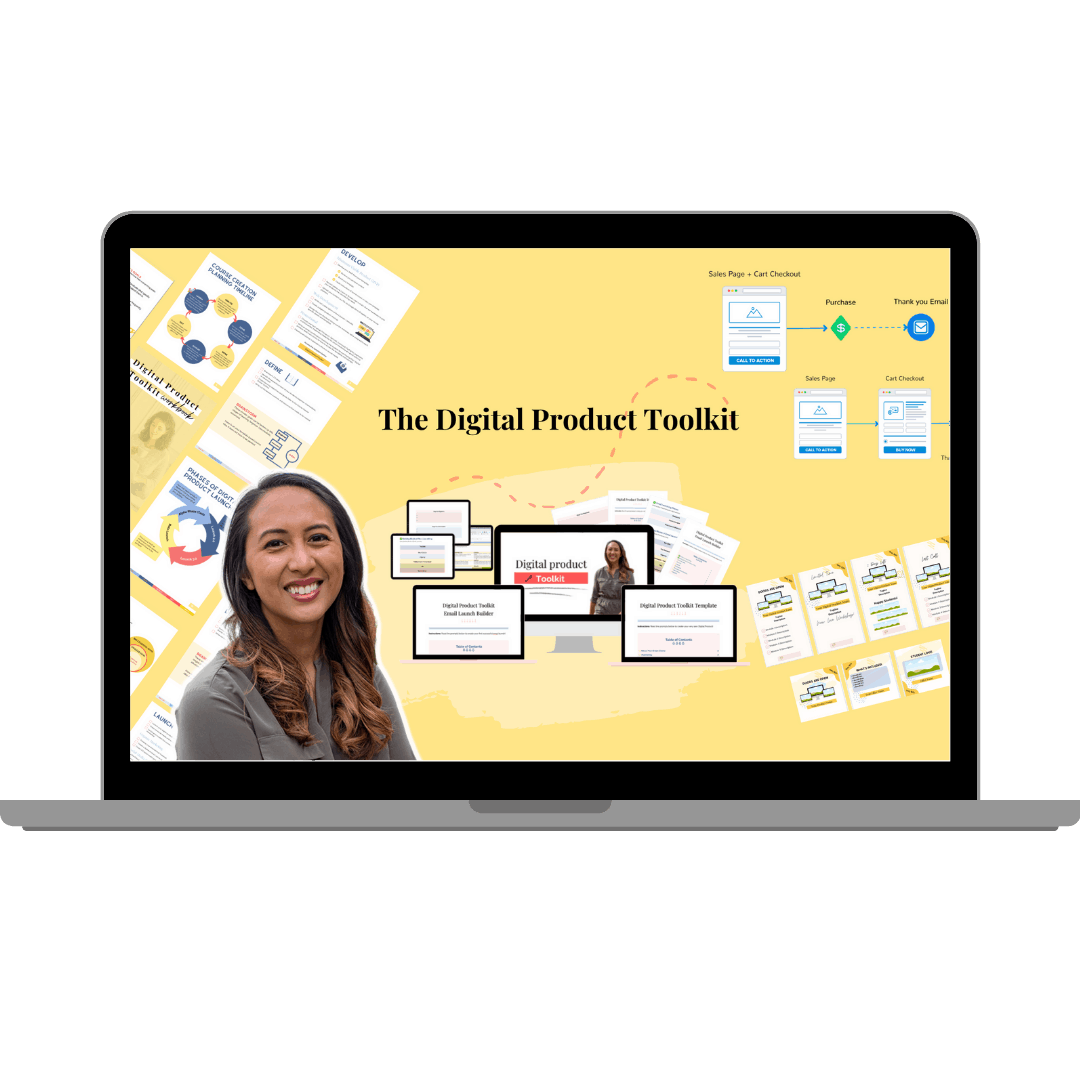 Digital Product Toolkit Masterclass