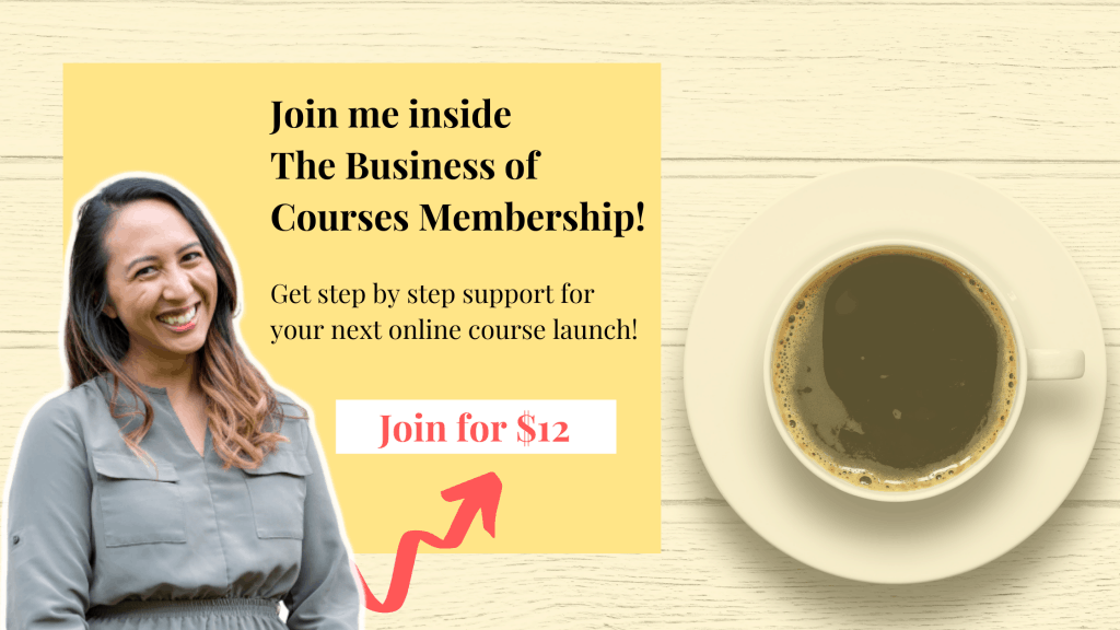 Business of Courses Membership